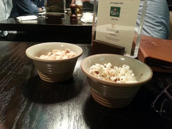 Parc 55 Wyndham: Popcorn