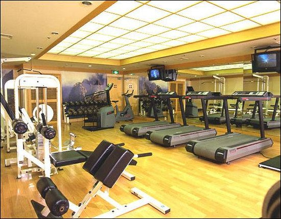 Hotel Commodore Busan: Fitness Center