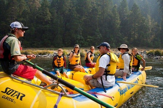 The Lodge at Riverside: Whitewater Rafting along the Rogue River