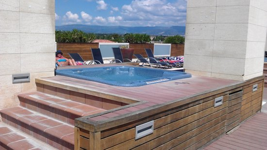 Hotel Villamarina Club: adult only solarium