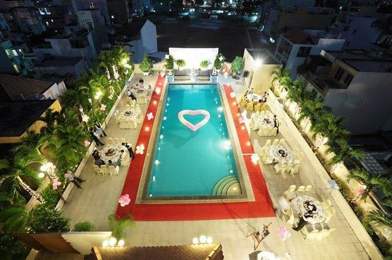 Ramana Hotel Saigon: Pool View