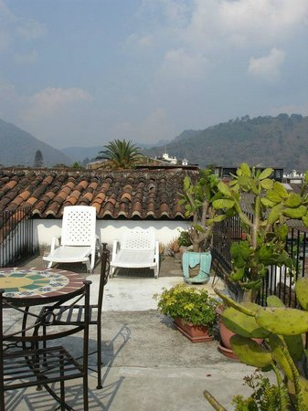 Hotel Casa Rustica: Roof deck