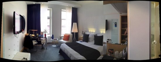 Radisson Blu Hotel, Amsterdam: Business Class Room