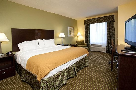 Holiday Inn Express Hotel &amp; Suites Saint Augustine North: Holiday Inn Express and Suites St Augustine King Room