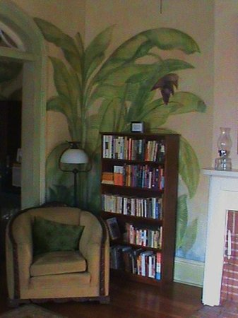 Auld Sweet Olive Bed and Breakfast: Great place to read on a rainy morning, or anytime