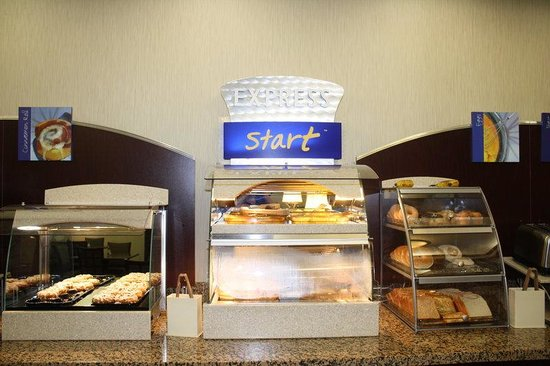 Bridgeport, Virginia Barat: Breakfast Bar