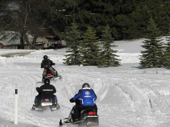 Burlington, WI: Snowmobiling