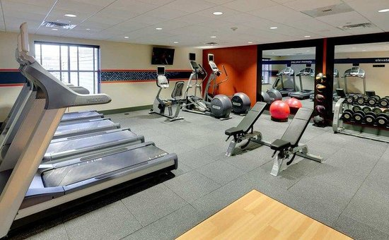 Hampton Inn Portland Downtown - Waterfront : Fitness Center