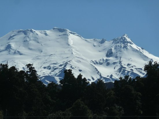Ohakune, New Zealand: View from porch.