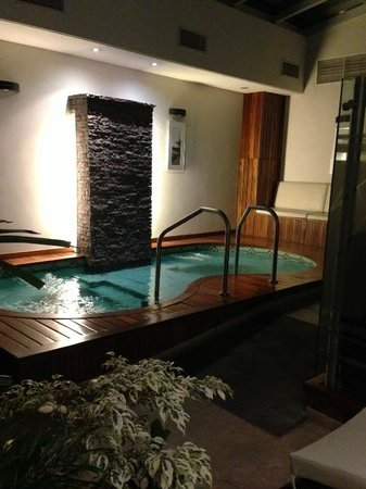 Howard Johnson Hotel Boutique Recoleta: rea da piscina