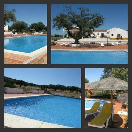 Portalegre, Portugal: Our swimming-pools and views...