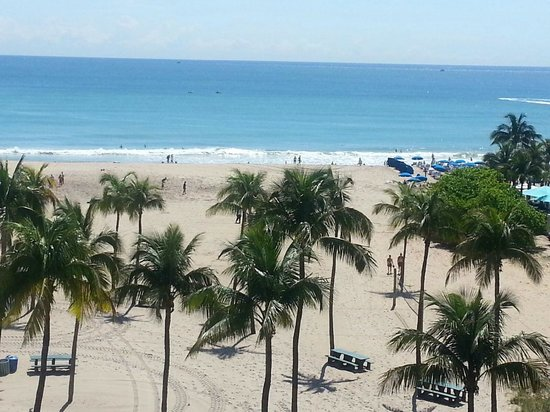 Sheraton Fort Lauderdale Beach Hotel: view from 5th floor balcony!! perfection!!