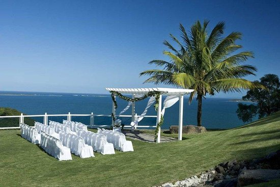 Las Casitas Village, A Waldorf Astoria Resort: Outdoor Wedding Setup