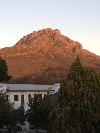 Middedorp Manor: Our view from Room # 1