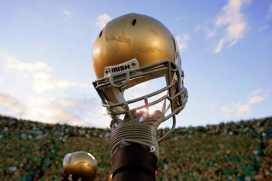 DoubleTree by Hilton Hotel South Bend: Notre Dame Helmet