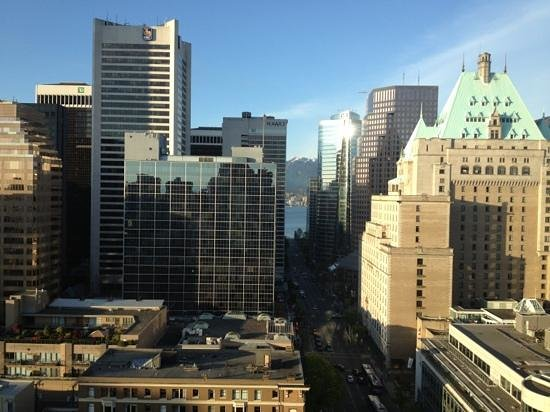 Sutton Place Hotel Vancouver: view from our room