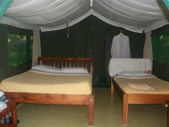 Ol-moran Tented Camp: Inside the tent