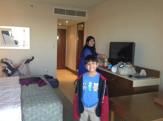 Al Mussanah, Oman : Large rooms great for families