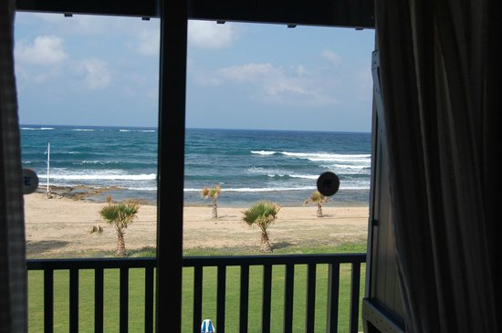 Kefalos Beach Tourist Village: The view from one of the Villa bedrooms