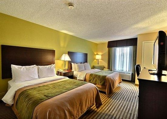 Comfort Inn & Suites Airport: guest room