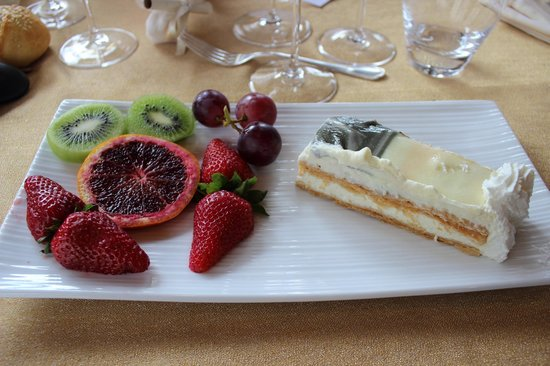 Relais Madonna di Campagna: Il dessert