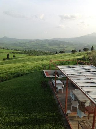 La Bandita: terrace, chillout and view