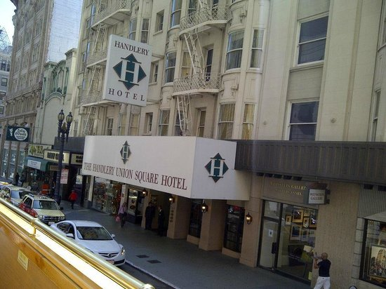 Handlery Union Square Hotel: Street View
