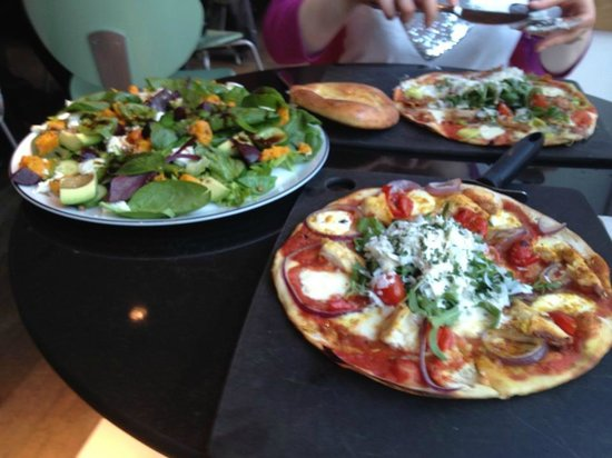 Pizza Express Leggera Superfood Salad Pizza Express Leggera Pizza