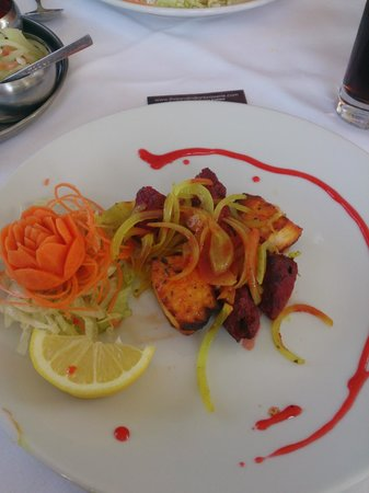 Bromsgrove, UK: Mixed Kebab starter