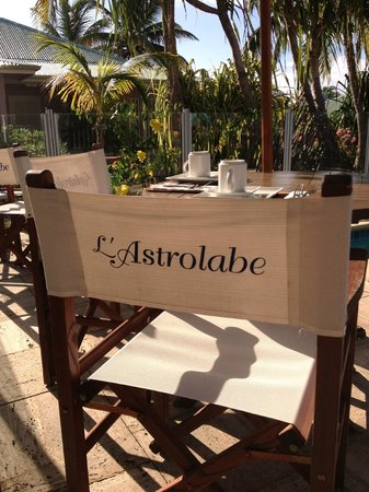 Esmeralda Resort: Breakfast room at L'Astrolabe