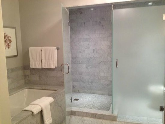Waldorf Astoria Chicago: Spacious Walk-In Shower
