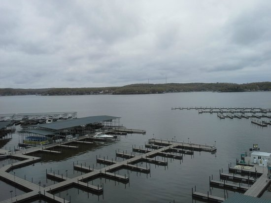 Camden on the Lake Resort, Spa, &amp; Yacht Club : Another view from the room 