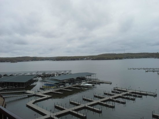 Camden on the Lake Resort, Spa, &amp; Yacht Club : View from the balcony 
