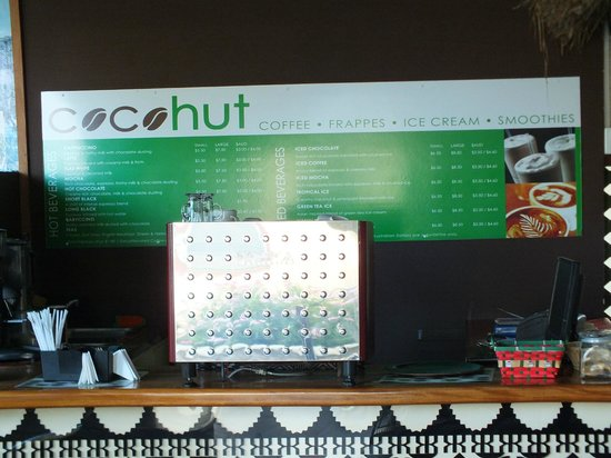 Raffles Gateway Hotel : Cocohut, located next to bar 