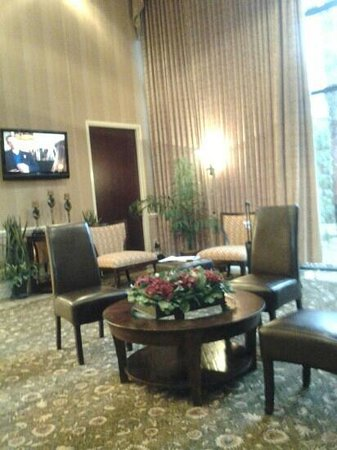 Doubletree by Hilton Charlottesville: nice lobby