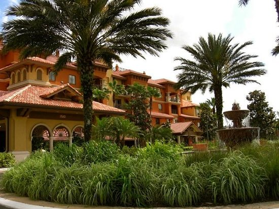 Wyndham Bonnet Creek Resort: Lobby entrance