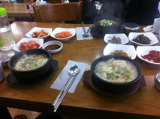 Sokcho, South Korea: food