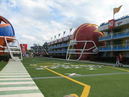 Disney&#39;s All-Star Sports Resort: Touchdown! section