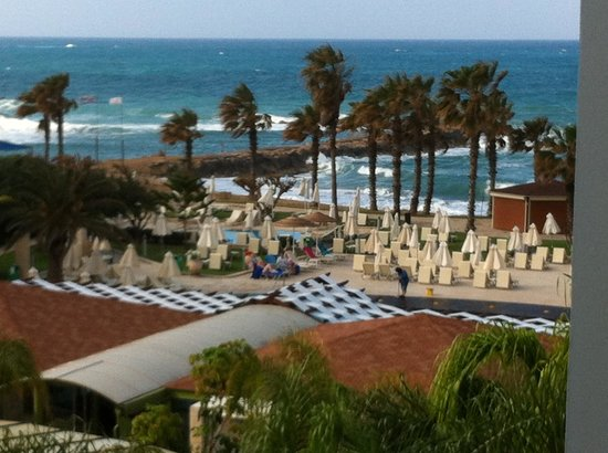 Louis Ledra Beach: View from rooms on floor 2