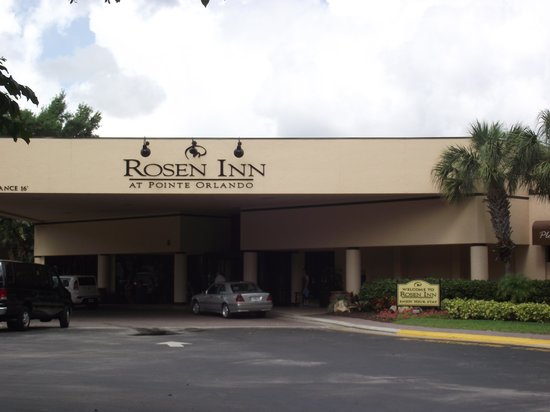 Rosen Inn at Pointe Orlando: reception