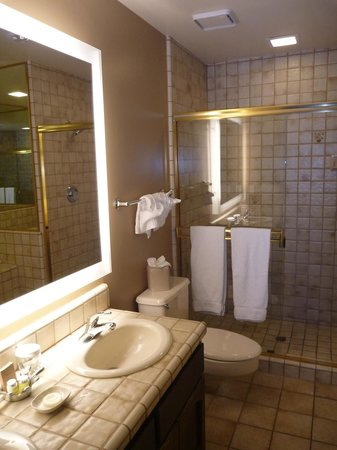 BEST WESTERN PLUS Arroyo Roble Hotel &amp; Creekside Villas: Bathroom in our villa
