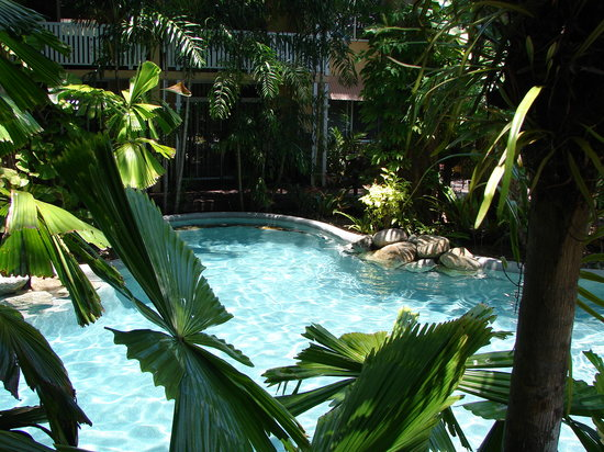 Palm Cove Tropic Apartments: Heated Salt Water Pool