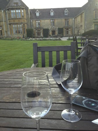 Upper Slaughter, UK: A Glass of Wine in the Late Afternoon.