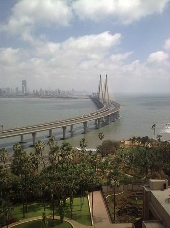 Taj Lands End: View from my room on the 22nd Floor