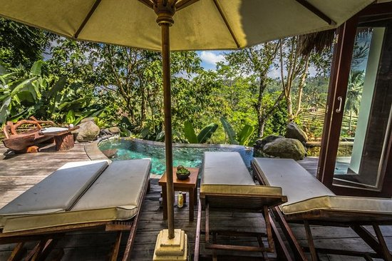 Dara Ayu Villas & Spa: Two bedroom villa plunge pool and deck