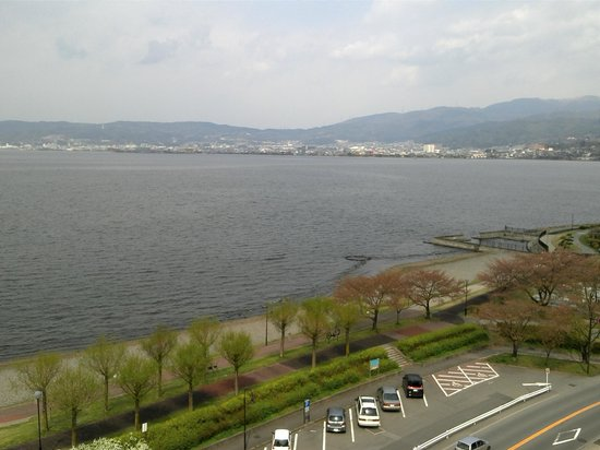 Suwa, Japan: View from room