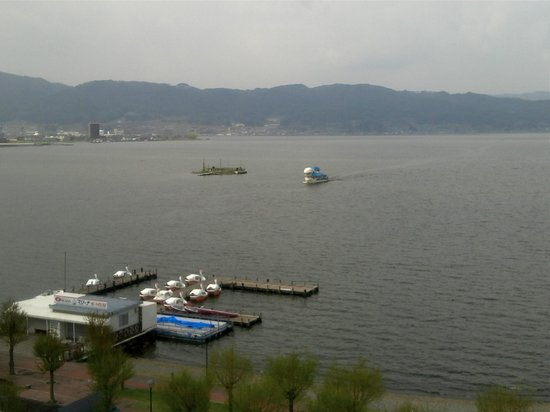 Suwa, Japan: Lovely lakeview