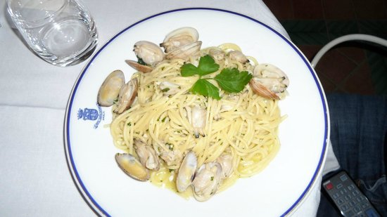 Santa Caterina Hotel: Pates vongole