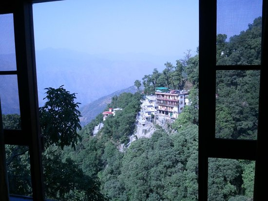 Hotel Vishnu Palace: View from my Room's Window