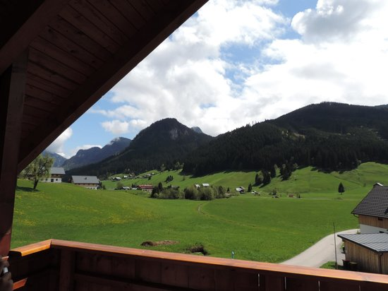 Gosau, Østrig: View from balcony